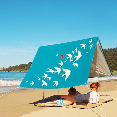 SOMBRILLA  BEACH SHADE - FLY AWAY BLUE