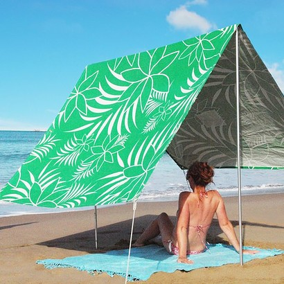 SOMBRILLA  BEACH SHADE - LEAF GREEN