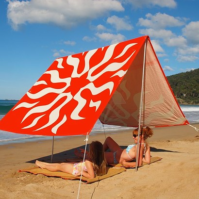 SOMBRILLA  BEACH SHADE - LOVE'N ORANGE